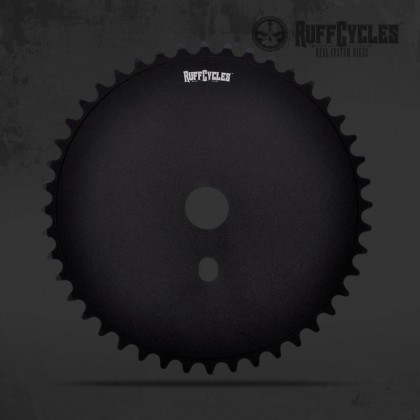RUFF CYCLES CHAIN WHEEL FAT BLACK 44T